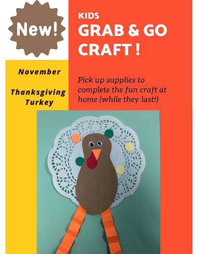 November 1 Grab Go Crafts