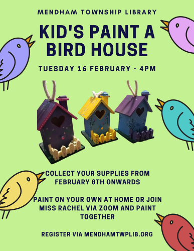 Paint a Birdhouse Kids 2