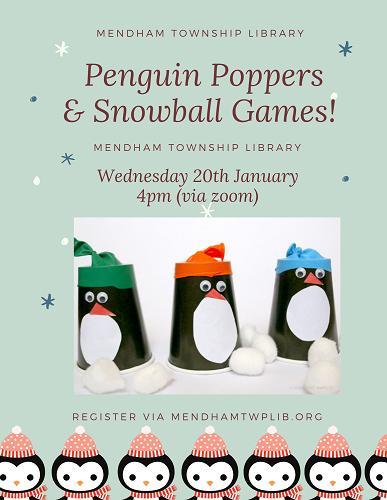 Penguin Poppers