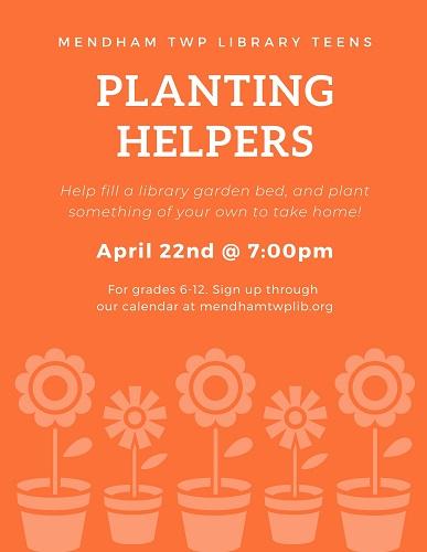 Planting event 2