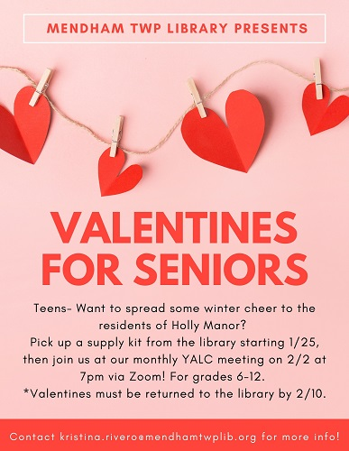 Valentines for Seniors