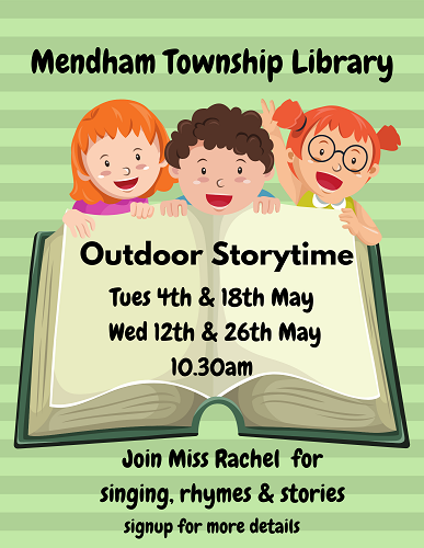 Zoom Storytimes May 1